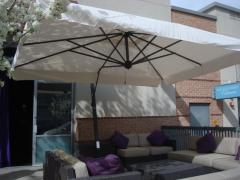 Cantilever umbrella with side leg Scolaro (Italy), model - Napo