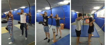"""Club archery """"Archer"""", Kiev (Obolon, towers)"""