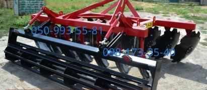 Disk aggregates BDN2.1 BDN-2.4, hinged. Delivery to the farm