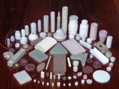Electrical insulators of ceramics - manufacture
