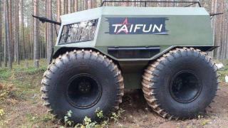 Купить бортоповоротный вездеход Тайфун
