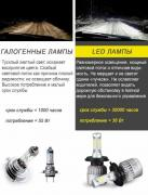 LED lamp socket H4, car headlights, fog lights