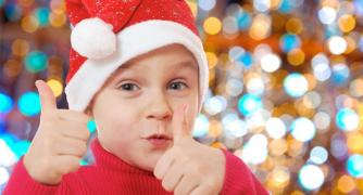 Personalized video greeting Santa Claus for Your child