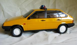 The car Lada Samara 1500, model VAZ-2109, in good condition